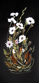 White Flowers by Dorothy Maier