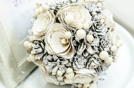 White flowers. by Slavica Koceva