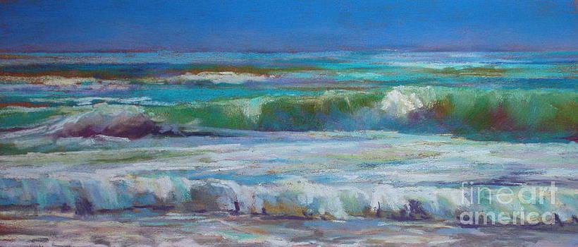 White Foam by Virginia Dauth