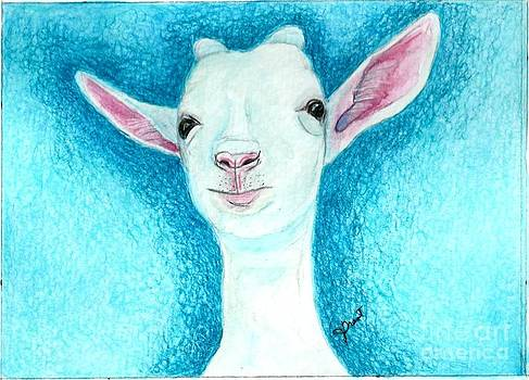 White Goat by Jeanne Grant