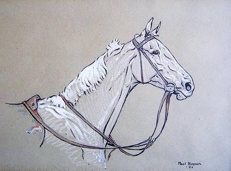 White Horse 1932 by Ann Whitfield