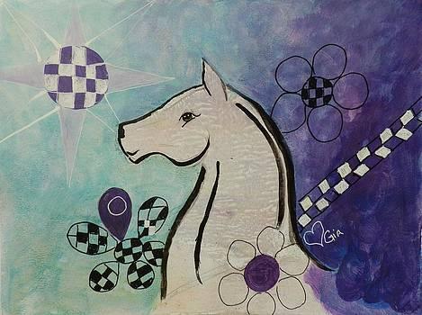 White Horse by Jann Elwood