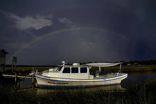 White Lightning Rainbow by Ron  Maxie