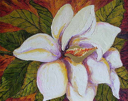 White Magnolia by Paris Wyatt Llanso