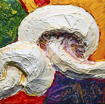 White Mushrooms by Paris Wyatt Llanso