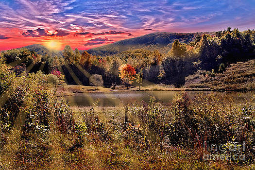 Jeff McJunkin - White Oak Mountain Sunrise