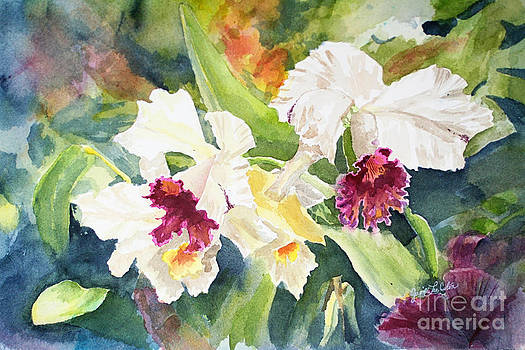 White Orchid by Janis Lee Colon