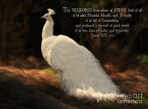 Constance Woods - White Peacock Wisdom