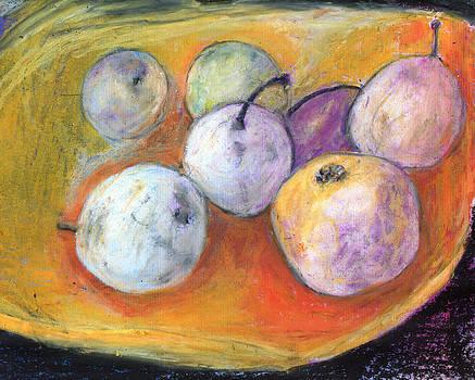 White Pears by Yuri Lushnichenko