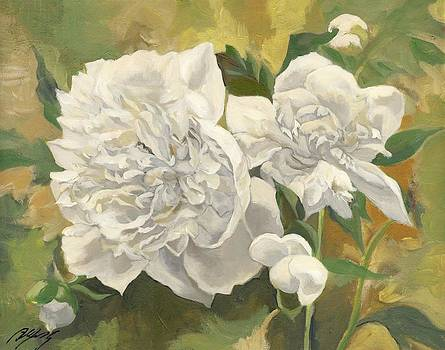 Alfred Ng - white peonies