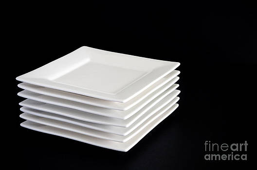 Tim Hester - White Plates on Black