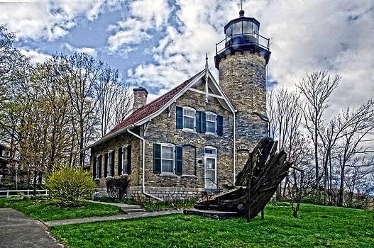White River Light Station by Cheryl Cencich