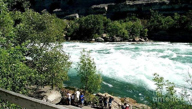 Gail Matthews - White River Rapids Niagara Falls