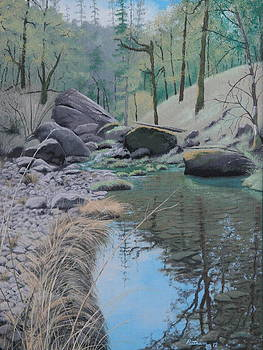 White Rock Creek by Michael Putnam