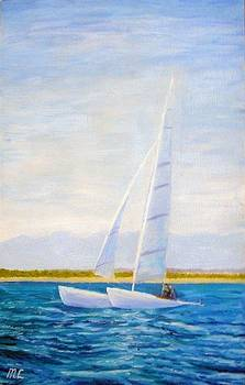 White Sail by Marina Lavrova