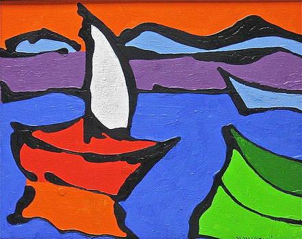 White Sail by Nicholas Martori