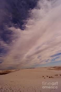 White Sands Clouds by Kerri Mortenson