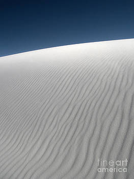 Gregory Dyer - White Sands New Mexico Dune Abstraction