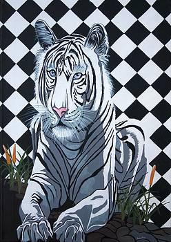 Tracey Harrington-Simpson - White Tiger