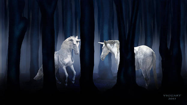Virginia Palomeque - White Unicorns