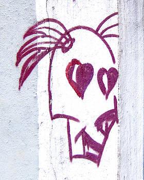 Julie Niemela - White Wall Graffiti - Sao Paulo