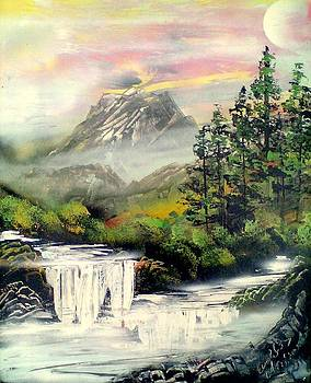 White Water by Evaldo Art