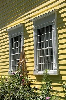 Valerie Kirkwood - White Windows Yellow Wall