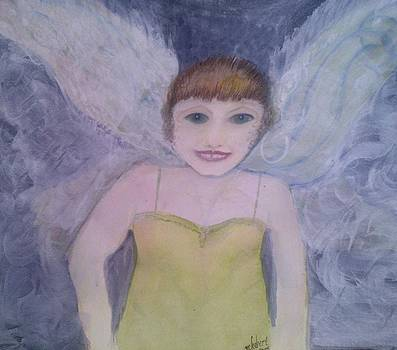 White Wing Faerie by Marian Hebert