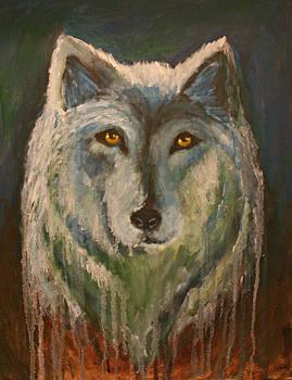 White Wolf by Alma Yamazaki