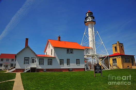 Terri Gostola - Whitefish Bay Lighthouse