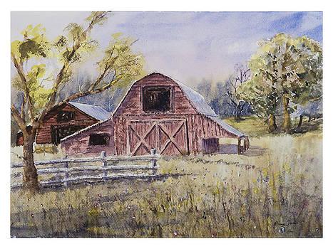 Whiteville Barn by Barry Jones
