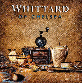 Whittard of Chelsea Tea Coffee and drawings by Daliana Pacuraru