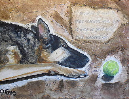 Who Rescued Who by Melissa Torres