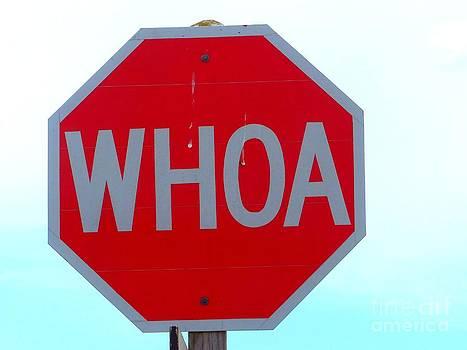 Christine Stack - WHOA Sign