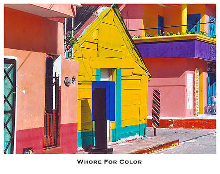Whore for Color by Lorenzo Laiken