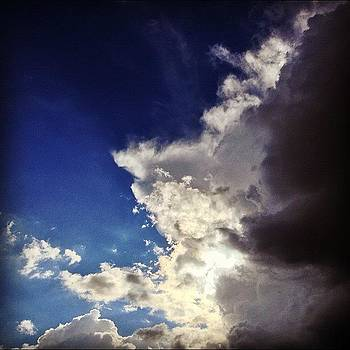 Wicked Sky. #clouds #sky #blue #sun by Victor Varela