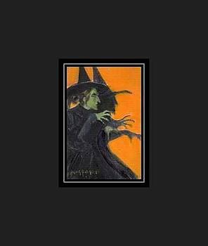 Wicked Witch by Donna Pomponio Theis