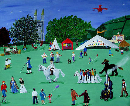 Widecombe Fair by Sandy Wager