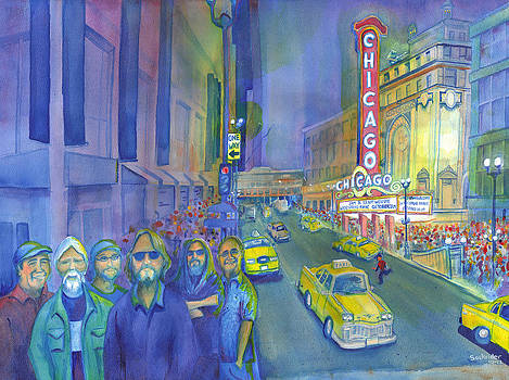 Widespread Panic Chicago  by David Sockrider