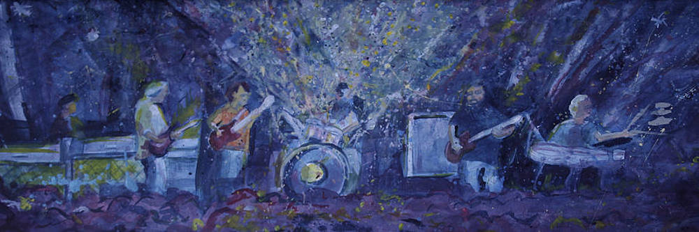 Widespread Panic Painted Live two by David Sockrider