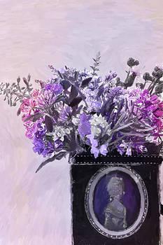 Sandra Foster - Wild Flower Bouquet - Digital Pastel