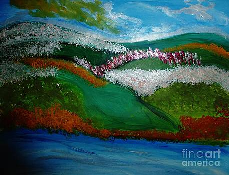 Wild Flowers on the Hills by Marie Bulger