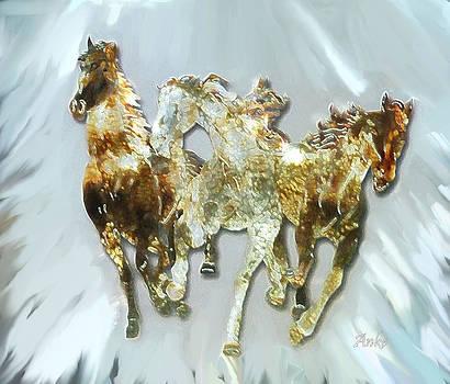 Wild Horses by Anke Wheeler