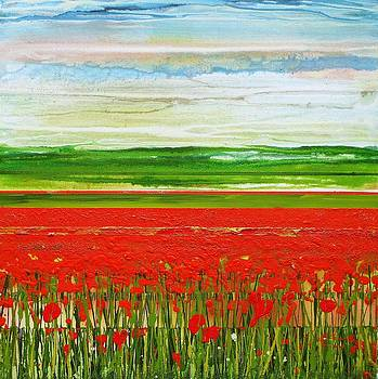 Wild poppy Series Northumberland by Mike   Bell