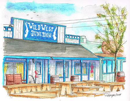 Wild West Junction Saloon in Route 66, Williams, Arizona by Carlos G Groppa