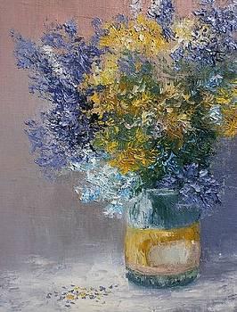 Wildflowers by Yaroslav Kuvshinov