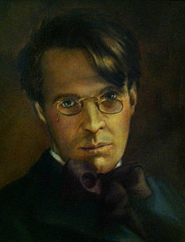 William Butler Yeats by June Ponte