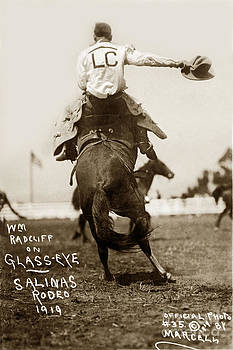 California Views Mr Pat Hathaway Archives - William Radcliff on Glass Eye Salinas California Rodeo 1919