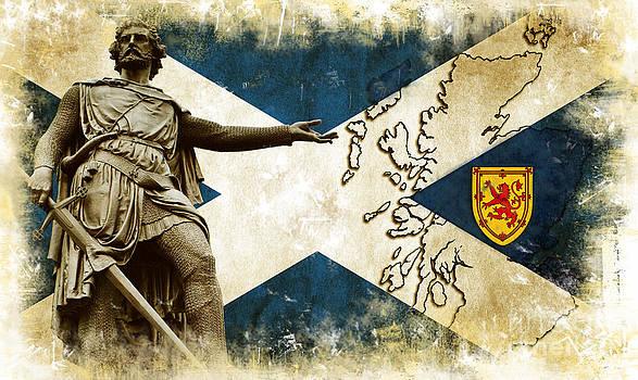William Wallace Guardian of Scotland II by Miryam  UrZa