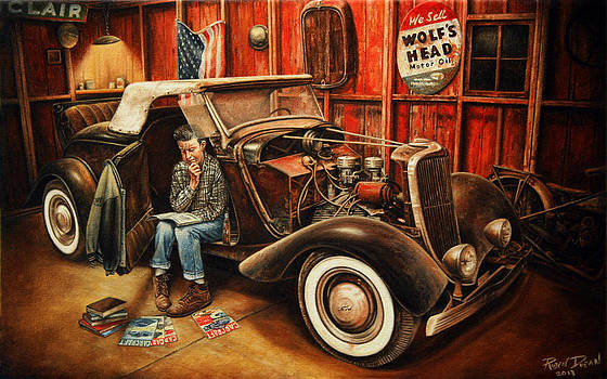 Willie Gillis Builds a Custom by Ruben Duran